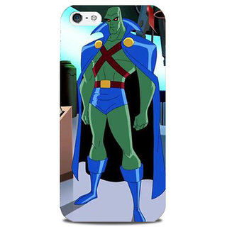 Blu Dew iPhone 5/5S Mobile Cover Haraa Superman