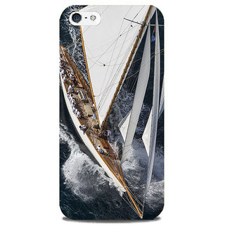 Blu Dew iPhone 5/5S Mobile Cover Thunder Ship