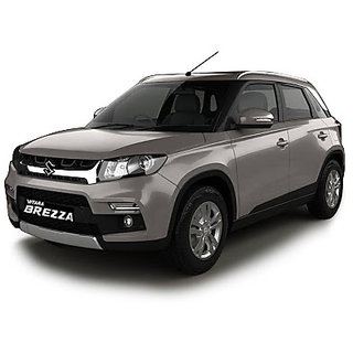 Maruti Suzuki Vitara BREZZA car body cover in silver mattey cloth
