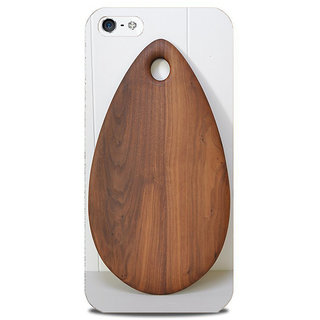 Blu Dew iPhone 5/5S Mobile Cover Wooden Eye