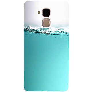 Casotec Half Fill Design 3D Hard Back Case Cover for Huawei Honor 5c