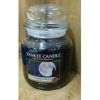 Yankee Jar Candles Black Colour Sorbet EOSS