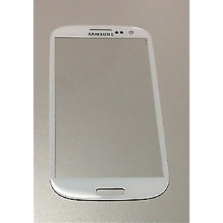 ClickAway Front Outer Glass Replacement for Samsung Galaxy S3 SIII i9300 (marble white)