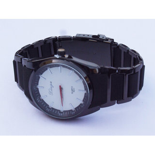 Men's Designer Metal Belt Wrist Watch
