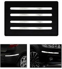Car Chrome Bumper Safety Guard Protectors Universal Car Bumper Guard/ Prpotector