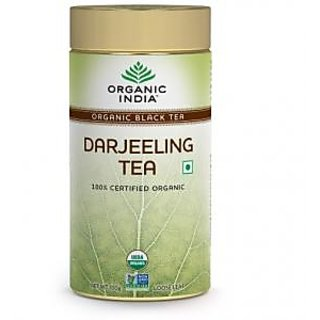 Organic India Darjeeling 100 Gram Tin