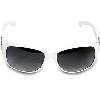 Women White Sunglass