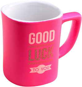 Everyday Gifts Daily Quote Good Luck Wishes Mug
