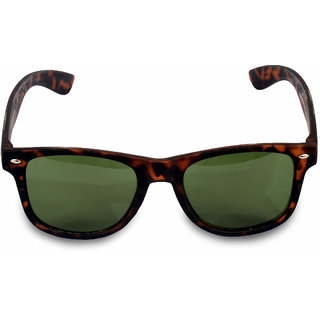 4f4e77b6cd7e Buy Women Men Tiger Print Brown Wayferer Sunglass Online - Get 58% Off
