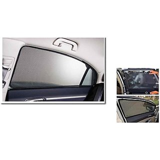 ROYAL Side Winndow Sun Shade For Maruti Suzuki Alto 800  (Black)