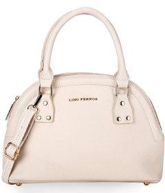 Lino Perros White Hand Bag  LWHB01894WHITE