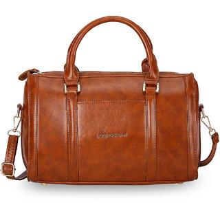 Lino Perros Brown Hand Bag  LWHB01898BROWN