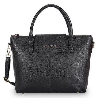 Lino Perros Black Hand Bag  LWHB01904BLACK