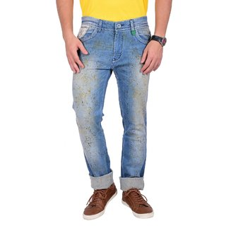 Mokajean Slim Fit Light Blue  Mens  Jeans