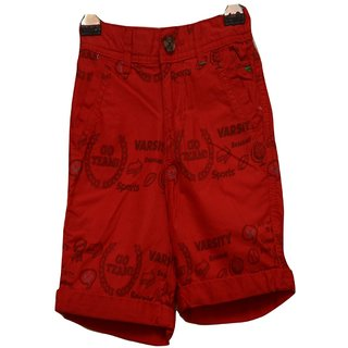 Titrit Red Shorts For Boys