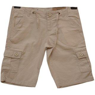 Titrit Linen Offwhite  Shorts For Boys