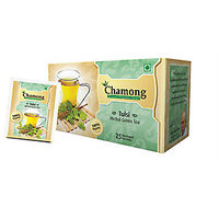 Chamong Tulsi Herbal Green Tea (25 TEA BAGS)