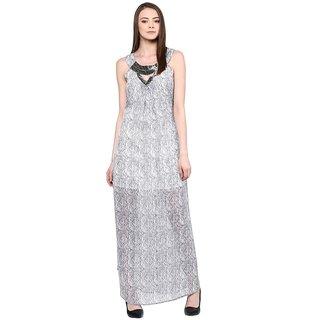 RARE Womens A-line Printed Dress-EP1288-MULTI