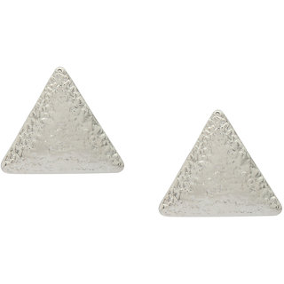 Stoln Silver Silver Plated Studs