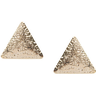 Stoln Gold Plated Gold Studs For Women.