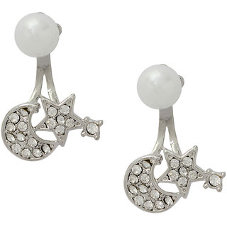 Stoln Silver Silver Plated Studs For Women