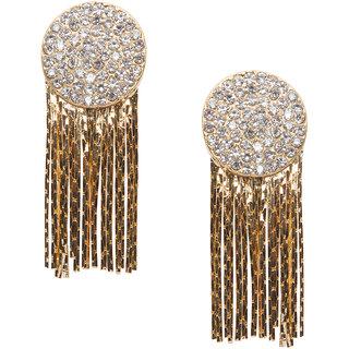 Stoln Gold Gold Plated Dangle Women Earrings
