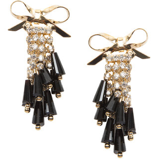 Stoln Gold Gold Plated Dangle Earrings For Women.