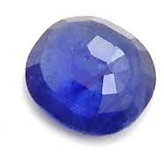 8.25 ratti Blue Sapphire (NEELAM) gemstone LABcertificate
