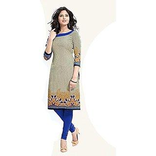 Ladies4Zone Design Womens Cotton febric Kurties
