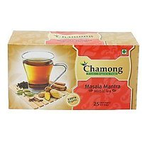 Chamong Masala Mantra Green Tea Bags (Pack Of 25 Enveloped Tea Bags)