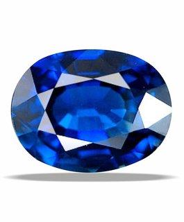 7.25 ratti Blue Sapphire (NEELAM) gemstone LABcertificate