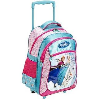 Frozen Waterproof School Bag (Pink, 16 inch) 8901736090643