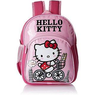Hello Kitty Waterproof School Bag (Pink, 12 inch) 8901736085885