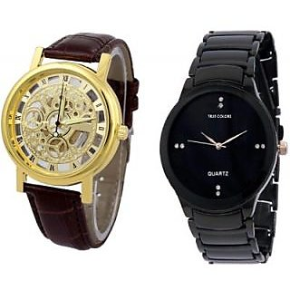TRUE COLORS BLACK JACK DEAL MR. PERFECT Analog Watch - For Boys, Men