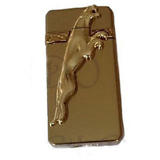 Golden Jaguar Refilling Cigarette Lighter Pack Of 2