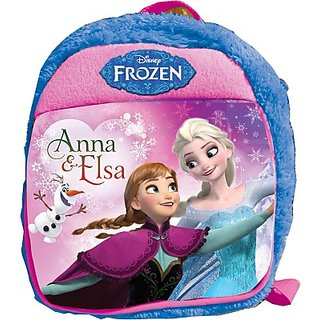 Disney Frozen Plush Bag 2.5 L Backpack (Blue) MBE-WDP0314