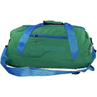 Cropp Green Unisex Nylon Gym Bag Emzcropp787Green