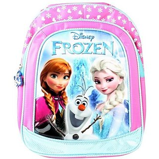 Frozen Waterproof School Bag (Pink, 14 inch) 8901736088329