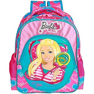 Mattel Girl Bag Backpack (Pink, 18 inch) EI-MAT0021