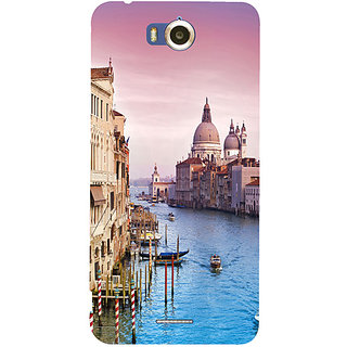 Casotec Venice Design Hard Back Case Cover for Infocus M530