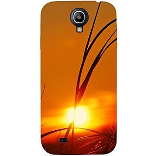 Casotec Moon View Design Hard Back Case Cover for Samsung Galaxy S4 i9500
