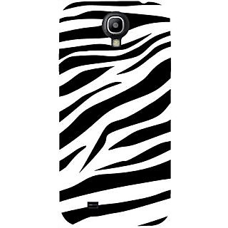 Casotec Black And White Design Hard Back Case Cover for Samsung Galaxy S4 i9500