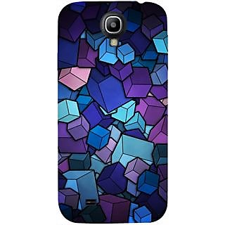 Casotec Color Box Design Hard Back Case Cover for Samsung Galaxy S4 i9500