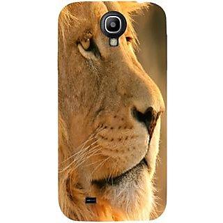Casotec Lion Design Hard Back Case Cover for Samsung Galaxy S4 i9500