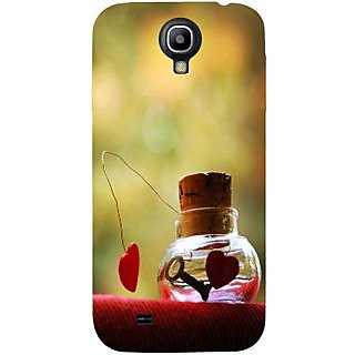 Casotec Love Prison Design Hard Back Case Cover for Samsung Galaxy S4 i9500