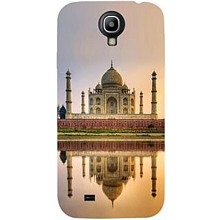 Casotec Taj Mahal Design Hard Back Case Cover for Samsung Galaxy S4 i9500