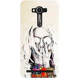 Casotec Fashion Pattern Design Hard Back Case Cover for Asus Zenfone 2 Laser ZE550KL