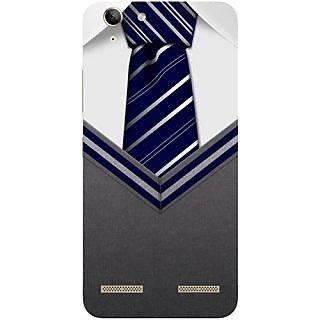 Casotec Tie Design Hard Back Case Cover for Lenovo Vibe K5 Plus