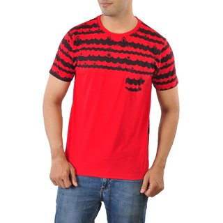 Mabyn Red and Black T-shirt