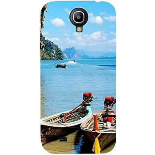 Casotec Sea View Design Hard Back Case Cover for Samsung Galaxy S4 i9500